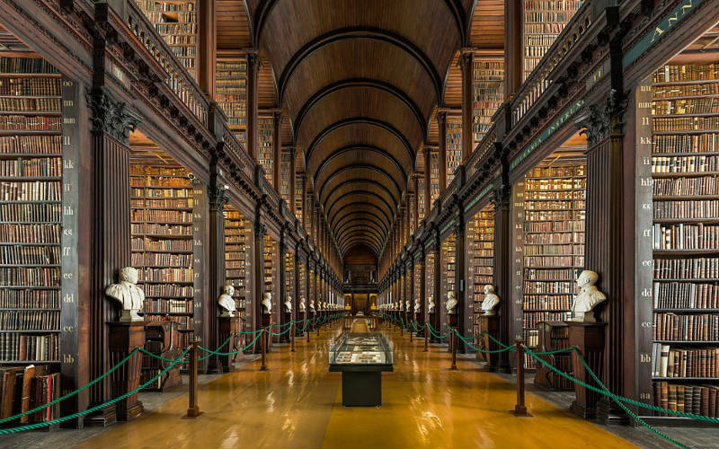 Long Room, Trinity College, Dublin, Ireland
