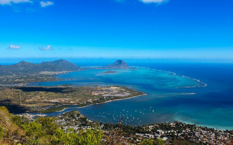 Mauritius sea beaches