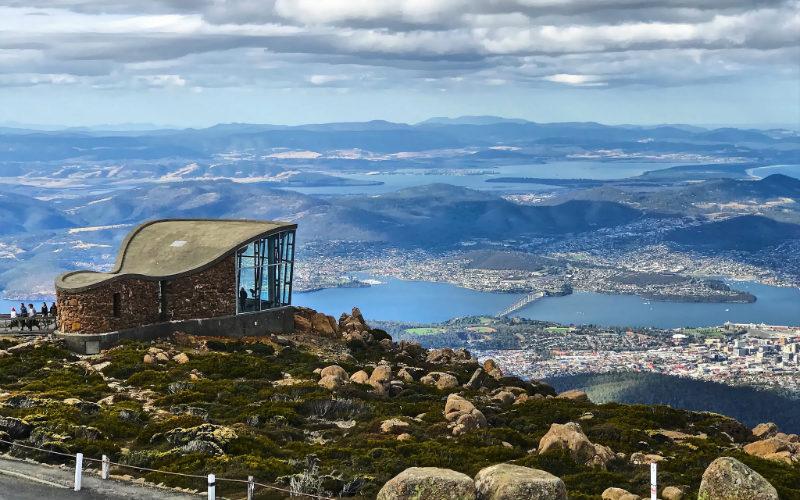 Mount Wellington,Tasmania, Australia