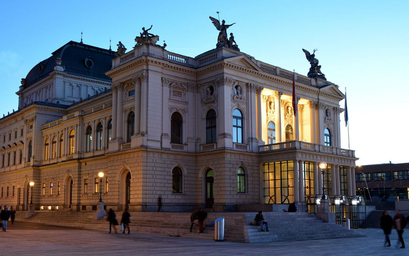 Zurich Opera House, Zurich, Switzerland