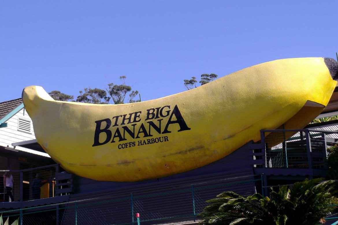 Big Banana, Coffs Harbour, NSW, Australia