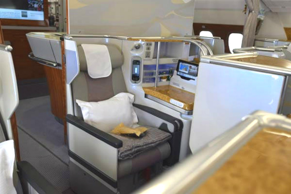 Business Class from Emirates