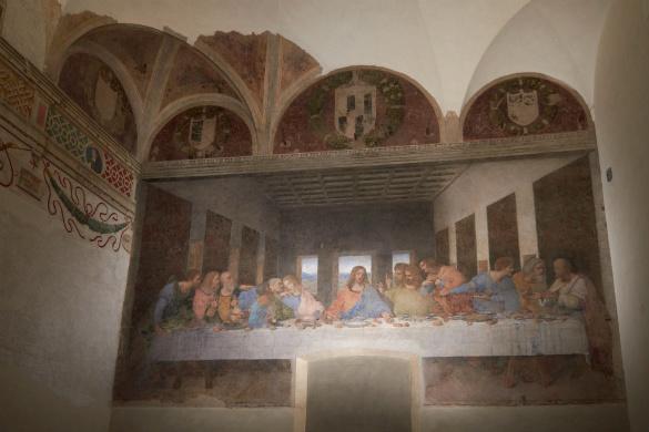 Da Vinci's Last Supper, Milan, Italy