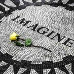 John Lennon, Strawberry Fields, Central Park, New York, USA