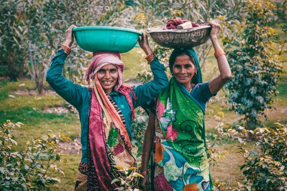India women farming