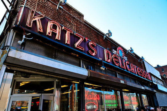 Katz's Deli, New York, USA