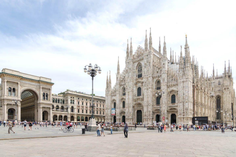 Milan, Italy, Cathedral Galeria Vittorio Emanuele II