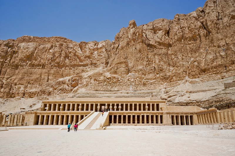 A temple in the Valley of the Kings