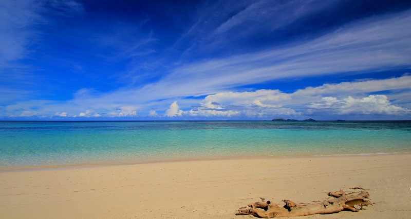 Tokoriki Island Fiji Islands Beach View