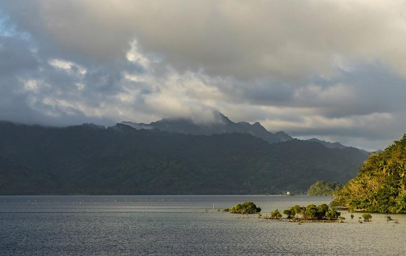 View of Vanua Levu, Fiji Islands