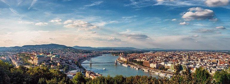 Budapest Hungary Danube River
