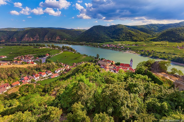Durnstein Germany Danube River