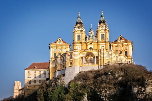 Melk Abbey Austria Danube River
