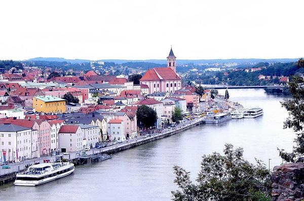 Passau Germany Danube River