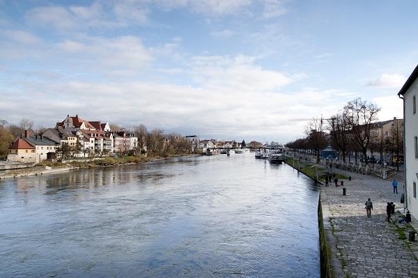 Regensburg Germany Danube River