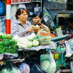 Food stall, Hanoi, Vietnam