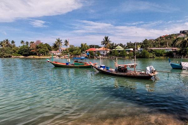 Boats-Koh-Samui