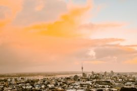 Auckland-Sunset-Skyline