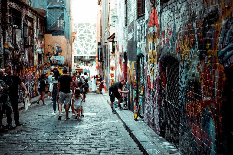 Melbourne-Laneway-Street-Art