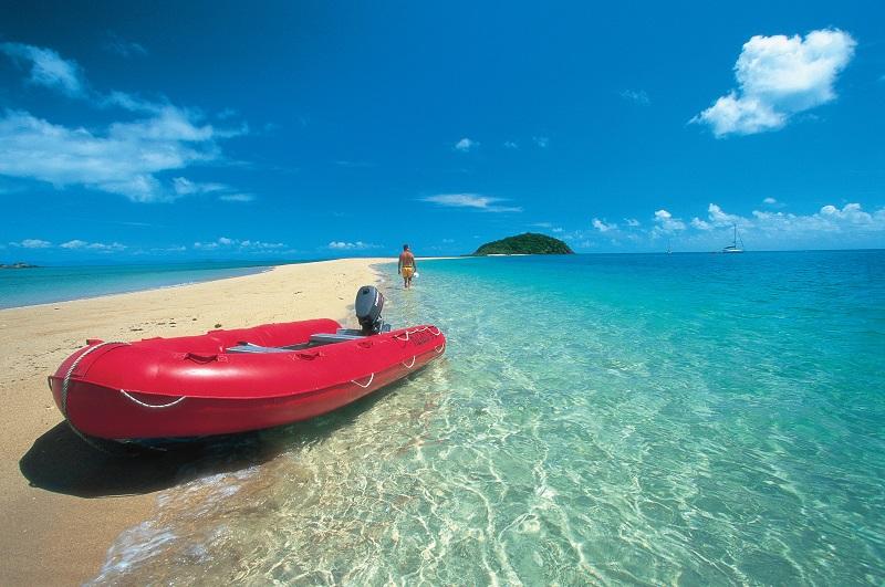 Sandbar Langford Island Whitsundays