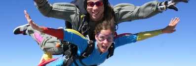 Go skydiving in Taupo on your next Kiwi adventure.