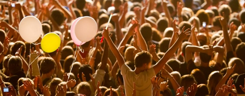 Have a heap of fun at a European music festival.