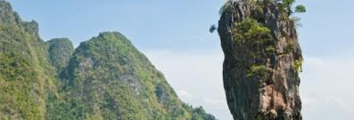 Phang Nga Bay offers a stunning and iconic Phuket view.