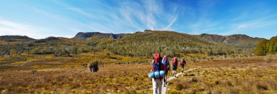 See the majesty of the Australian countryside on a bushwalk such as the Overland Trail in Tasmania.