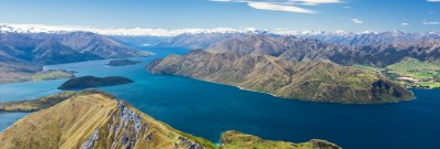 Stunning New Zealand made it to the top five of Australia's most-visited destinations in 2013.