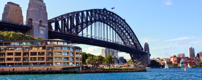 The Sydney Harbour Bridge is a must-see during your 48 hours in the city.